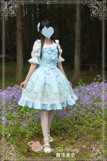 Magic Tea Party Son Of The Wind Sweet Lolita JSK 2 Colors