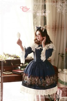 Magic Tea Party Gondola Sweet Lolita OP Dress 2 Colors