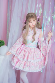 Gemini Japanese Style Princess Sweet Lolita Set 2 Colors