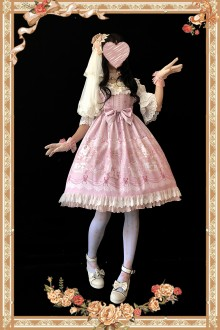 Sweet Queen of Roses Infanta Lolita JSK 3 Colors