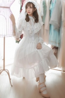 Japanese Lace Vintage Sweet Lolita Dress 2 Colors