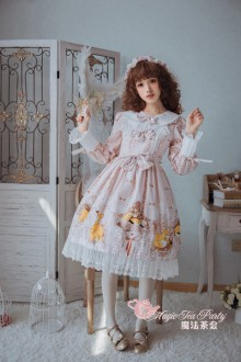 Magic Tea Party - Antonio's Four Seasons Original Sweet Lolit Dress 2 Colors
