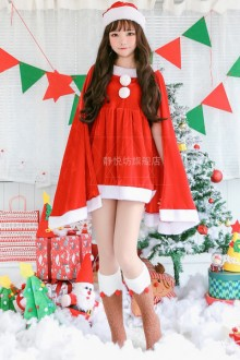 Lolita Christmas Shawl Christmas Costume 2 Colors