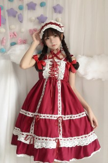 Babydoll Lace Sweet Lolita jsk Dress 3 Colors