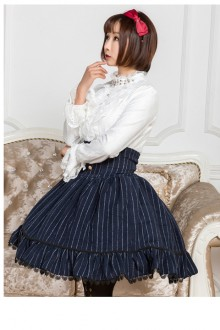 2018 New Autumn And Winter High Waist Sweet Lolita Skirt