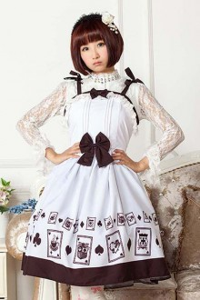 Original Poker Sweet Lolita OP Dress