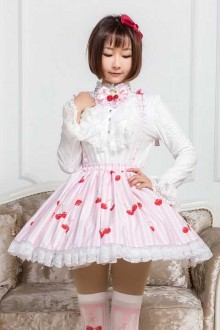 Original Print Cherry Sweet Lolita Skirt SK