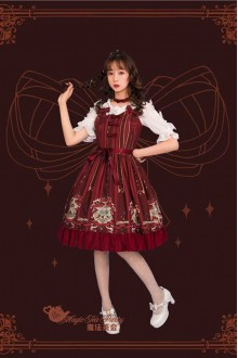 "Magic Tea Party  Original ""Bed Book"" Sweet Lolita JSK Dress 2 Colors"