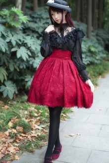 New Elegant High Waist Sweet Lolita Skirt SK 3 Colors