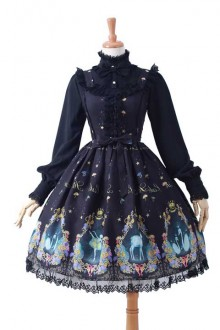 "New Print Original ""Swan Lake"" Sweet Lolita JSK Dress 2 Colors"