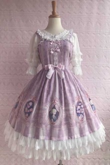 Original Print Design * Rose Valentine's Dream * Sweet Lolita Dress 3 Colors