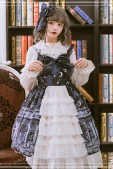 "Original ""Theological Seminary"" Sweet Lolita JSK Dress"