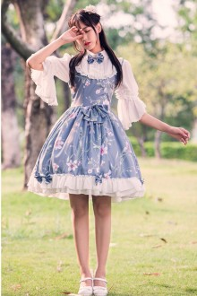 Original Chinese Style Printed Sweet Lolita Dress