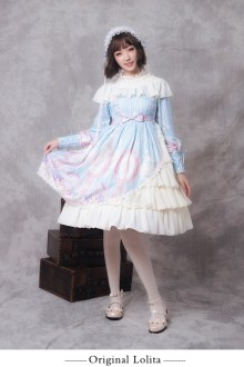 "Original ""Unicorn"" Sweet Lolita OP Dress"
