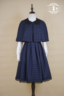 ●Miss Point● College Style Retro British Plaid Sweet Lolita Dress 2 Colors