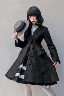 Original <Hegel and Susie> Gothic Lolita Coat 2 Colors