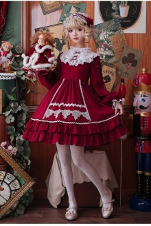 Original <Pea Pod> 2019 New Long Sleeve Sweet Lolita Dress