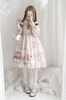 Original Design <Little Fairy Tale> Spring And Autumn Show Sweet Lolita Dress