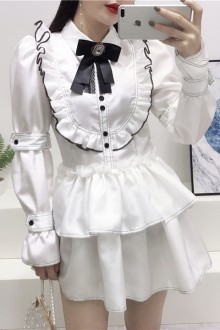 2019 New Waist Sweet Lolita Dress 2 Colors