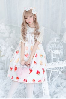 Original New Chiffon Sling Sweet Lolita JSK Dress
