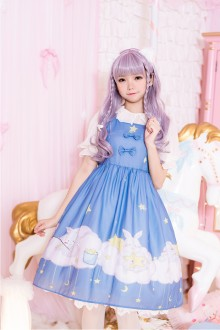 "Original Authentic ""Cloud Baby"" Sweet Lolita JSK Dress"
