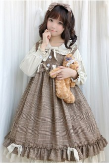 Original New Princess Girl Sweet Lolita Dress 2 Colors