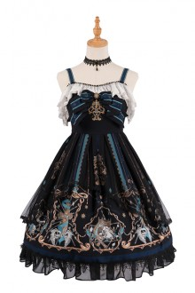 2019 Original New <God Redemption> Gothic Lolita JSK Dress