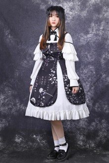Original Chinese Style Antique Chinese Elements Retro Sweet Lolita JSK Dress