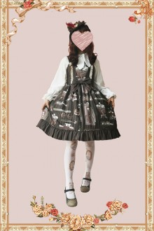 [Infanta] * Gardenia Open Graduation Season * Sweet Lolita JSK Dress 4 Colors