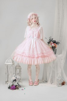 Original Design <Cute Miss Peer> Sweet Lolita JSK Dress 3 Colors