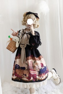 Original Long Sleeve  Sweet Lolita OP Dress