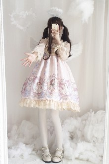 Original <Angel Concerto> Chiffon Sweet Lolita Dress