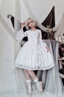 "2019 Original New ""Tea Will Be Married"" Sweet Lolita OP Dress 2 Colors"