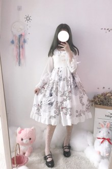 Original Vintage Sweet Lolita Dress 2 Colors