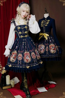 Original Print Gothic Lolita JSK Dress 2 Colors