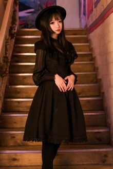 Original New Gothic Lolita Dress 2 Colors