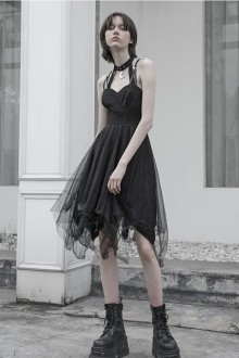 Original Design Slim Dark Gothic Lolita Dress