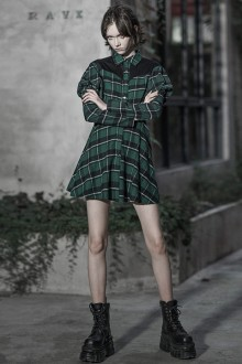 Original New Fashion Green Gothic Lolita Dress