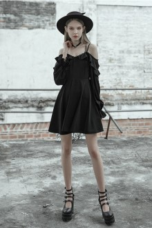 Original New Long Sleeve Black Sexy Sweet Lolita Dress