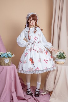 "Original Design ""Sound of Music"" Sweet Lolita JSK Dress 2 Colors"