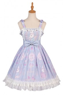 "Original Design ""Miss Rabbit"" Sweet Lolita Dress"
