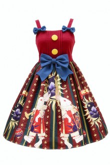 Halloween Lolita Circus Rabbit Skirt