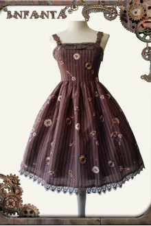 Mechanical Doll Punk Lolita Mini JSK Dress