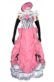 Ciel Phantomhive Dress Pink Cosplay Costume Dress
