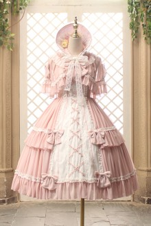 Lace Bow Tie Strap Sweet Lolita Dress