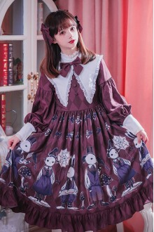 Poisonous Mushroom Dark Gothic Lolita Dress