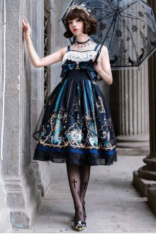Gods Redemption Dark Gothic Lolita JSK Dress