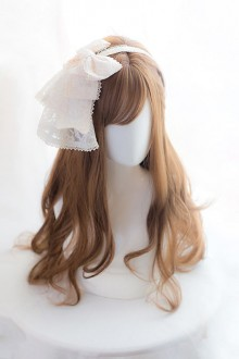 Long Curly Hair Lolita Wig (Brown or Black )