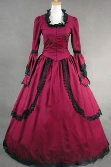 Palace Style Gorgeous Lace Edge Lolita Prom Dress