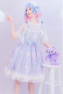 Miss Rabbit Sweet Plus Size Lolita JSK Dress
